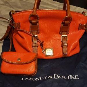 Dooney and Bourke Satchel & Wristlet Set
